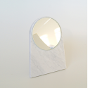 Makeup mirror marble Moon